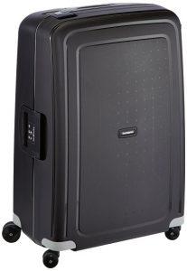 samsonite valise rigide pas cher scure spinner 7528-102-l-noir
