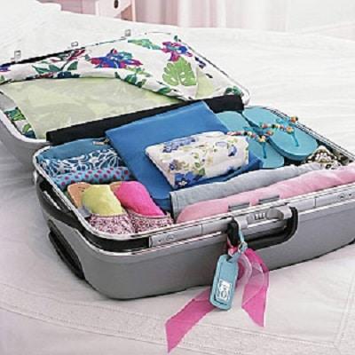 la liste pour faire sa valise bien rangee