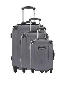 valise Platinium Dorset set de 3 valise pas cher