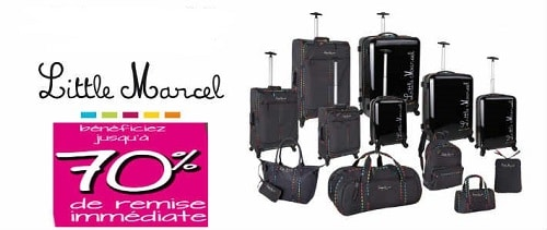 Solde Valise Little Marcel